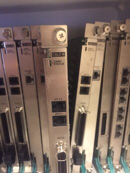 VoIP-оборудование - Panasonic KX-TDA0177 - CSLC16 плата аналоговых…, 0