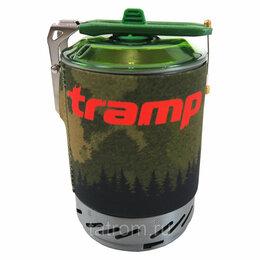 Прочая техника - Система для приготовления пищи Tramp 1л. (оливковый), 0