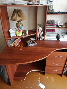 Компьютерные и письменные столы - Компьютерный стол, угловой, 0
