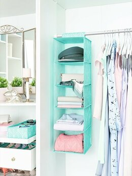 Шкафы, стенки, гарнитуры - Мягкий подвесной шкаф для хранения одежды, 0