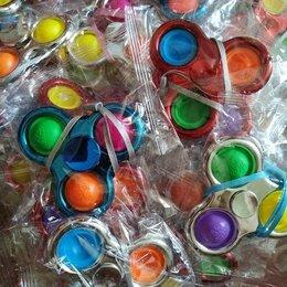 Игрушки-антистресс - Симпл димпл спинер Антистресс хром 3 шарика , 0
