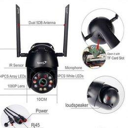 Камеры видеонаблюдения - Новая Zjuxin PTZ IP WiFi HD1080P беспроводная наружная CCTV камера, 0