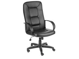 Компьютерные кресла - Кресло Сенатор ультра кожзам цвет черный, 0