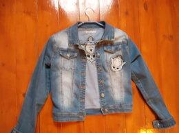 Куртки и пуховики - Джинсовая курточка, 0