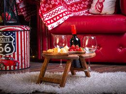 Столы и столики - Винный столик Винница на 4 бокала с большой…, 0