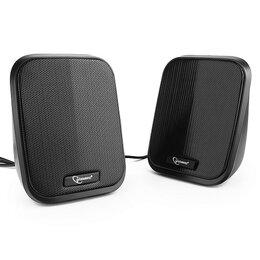 Компьютерная акустика - Акустическая система 2.0 Gembird SPK-100 черный 6 , 0