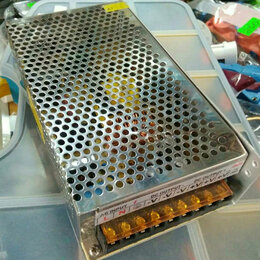 Блоки питания - Адаптер блок питания светодиодный драйвер S-240-12 12V 20А 240W, 0