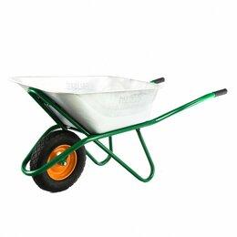 Тележки и тачки - Тачка садово-строительная усиленная 200кг, 90л…, 0