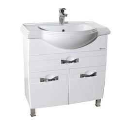 Тумбы - Тумба с раковиной напольная в ванную комнату…, 0