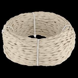 Кабели и разъемы - Ретро кабель витой 2х1,5 (песочный) Werkel 50 м…, 0