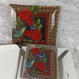 Тарелки - Набор тарелок в упаковке: 1 блюдо + 6 тарелок, 0
