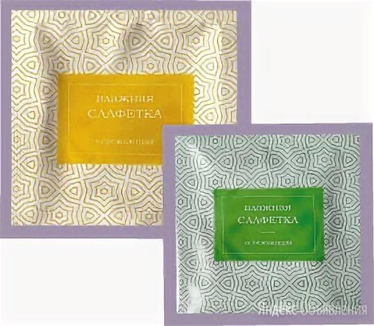 Влажная салфетка в индивидуальной упаковке 100 шт 8406 по цене 140₽ - Влажные салфетки, фото 0