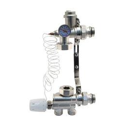 Комплектующие для радиаторов и теплых полов - Насосно-смесительный узел для теплого пола Vieir, 0