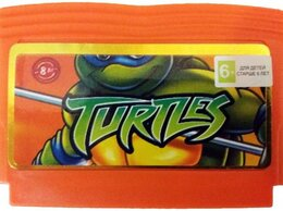 Игры для приставок и ПК - Картридж TMNT Teenage Mutant Ninja Turtles…, 0