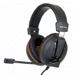 Компьютерная акустика - Гарнитура игровая Gembird MHS-G100 черный оранжевы, 0