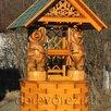 Домики для колодцев  по цене не указана - Садовые фигуры и цветочницы, фото 4