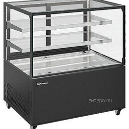 Холодильные витрины - Витрина кондитерская Carboma KC78-110 VV 1,2-1, 0