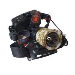 Аксессуары и комплектующие - Фонарь налобный (T6- ZOOM) MX2183, 0