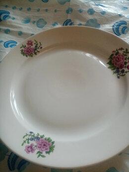 Тарелки - Блюдо и тарелки. Дулево. СССР, 0