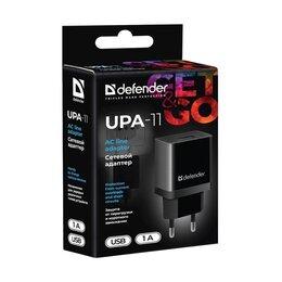 Зарядные устройства и адаптеры - Блок питания Defender UPA-11 1000 mAh, 0