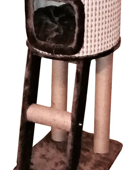 "Когтеточки и комплексы  - Домик-когтеточка для кошек ""Хомячок"", 0"