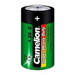 Батарейки - Батарейка Camelion R14 солевая 1шт, 0