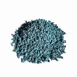 Садовые дорожки и покрытия - Темно-синяя EPDM крошка, 0