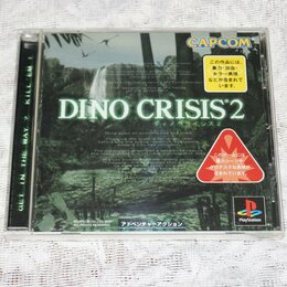 Игры для приставок и ПК - Dino crisis 2 для PS 1 японского региона , 0