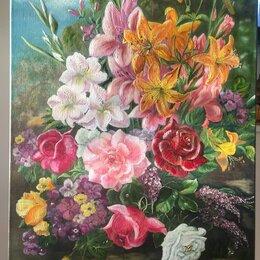 Картины, постеры, гобелены, панно - Цветы от Таши, 0