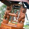 Колодец с мишками по цене 105000₽ - Садовые фигуры и цветочницы, фото 0