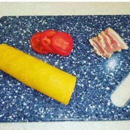 Разделочные доски - Разделочная доска из искусственного камня цветная , 0