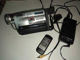 Видеокамеры - Видеокамера PANASONIC NV-RZ10 VHS-C, Japan, 0