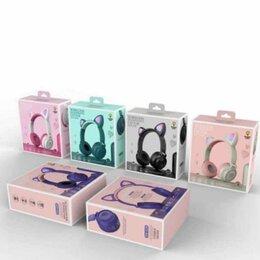Наушники и Bluetooth-гарнитуры - Беспроводные Bluetooth наушники с ушками ZW-028  Cat ear, 0