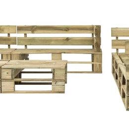 Диваны - Восьмиместный диван из паллетов., 0