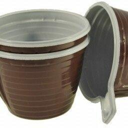 Кружки, блюдца и пары - Чашка кофейная пластиковая (50шт/уп), 0
