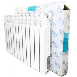 Радиаторы - Радиатор алюминиевый STI 500/80 12 секций, 0