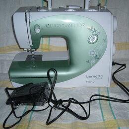 Швейные машины - Швейная машина, оверлог, вышивка гладью., 0