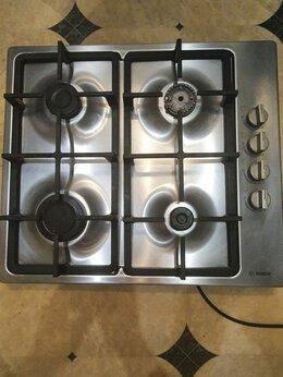 Плиты и варочные панели - Газовая варочная панель Bosch PBP6C5B90, 0