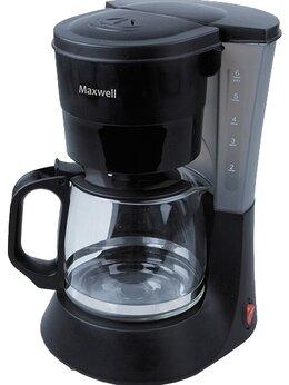 Кофеварки и кофемашины - КОФЕВАРКА МAXWELL MW-1660 BK, 0
