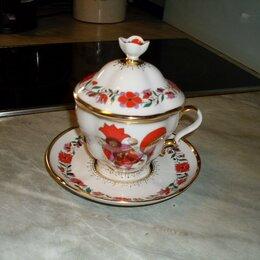 Кружки, блюдца и пары - Чайная чашка с блюдцем и с крышкой.лфз, 0