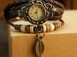 """Наручные часы - Наручные женские винтажные часы """"Лист Магнолии"""" , 0"""