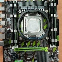 Процессоры (CPU) - Комплект плата 2011+проц 12потоков Xeon+16Гб ДДР3   , 0