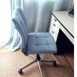 Компьютерные кресла - Компьютерное кресло СН-330 серо-голубой, 0