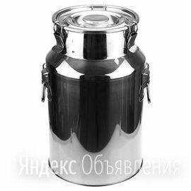 Фляга 38 литров нержавейка по цене 4000₽ - Ёмкости для хранения, фото 0