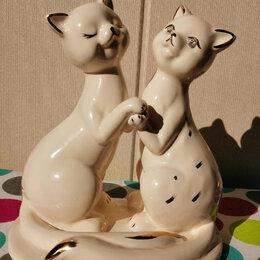 """Статуэтки и фигурки - Статуэтка """"Пара кошек"""" , 0"""