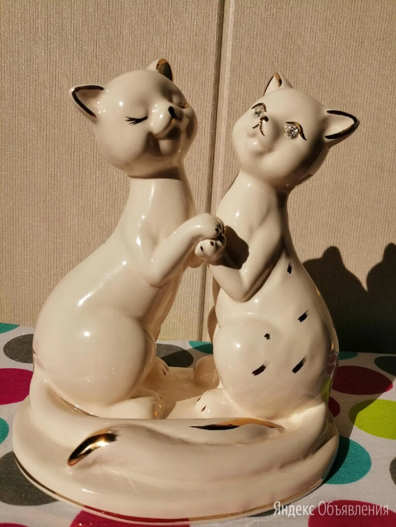 "Статуэтка ""Пара кошек""  по цене 2500₽ - Статуэтки и фигурки, фото 0"