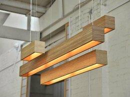 Люстры и потолочные светильники - Светильники из массива дерева, 0