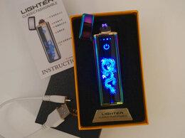 Пепельницы и зажигалки - Зажигалка USB Дракон, 0