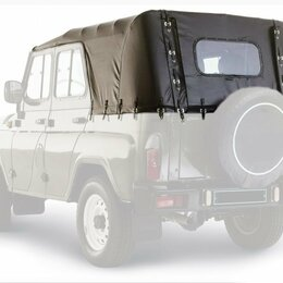 Прочие аксессуары  - Тент УАЗ 469, хаки, б/у, 0
