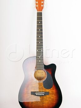 Акустические и классические гитары - LF-3800CT-SB Фольковая гитара вырез HOMAGE, 0